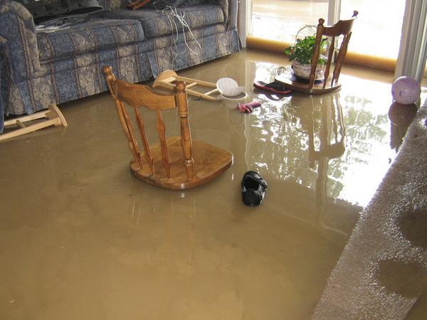 indoor water damage