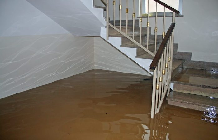 home flooding clean up