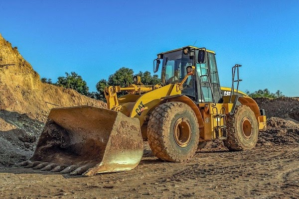 heavy equipment machinery for construction