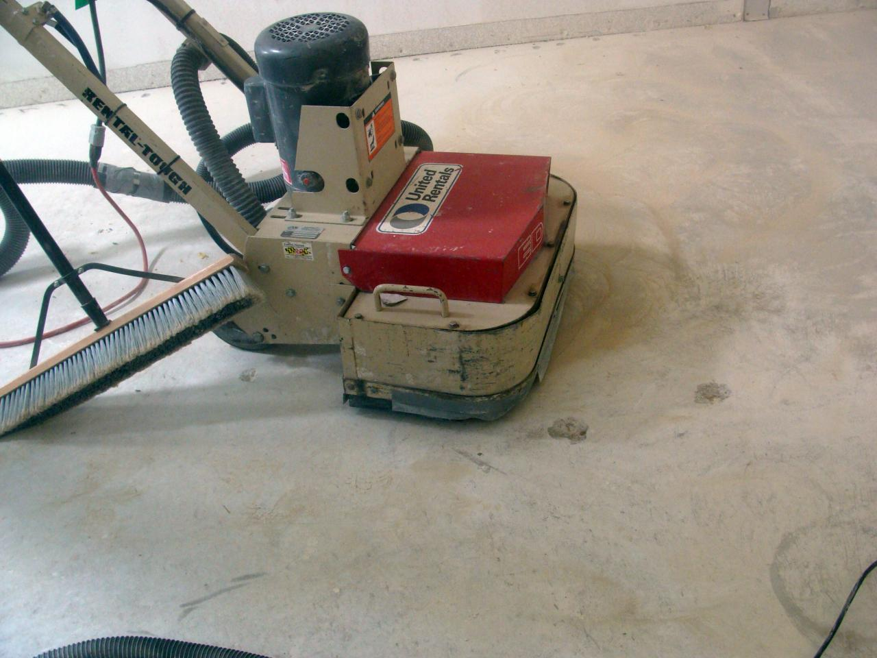 lowes concrete grinder rental