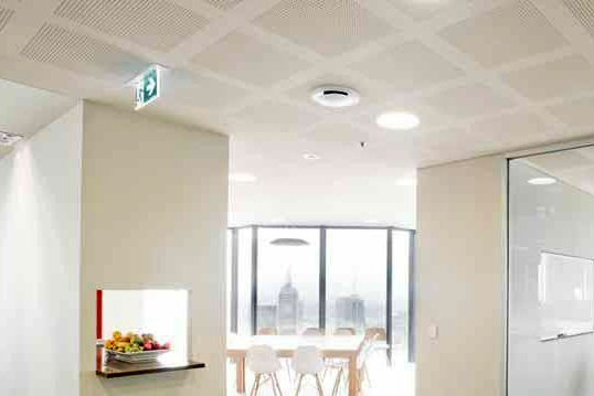 how to fix gib board ceiling